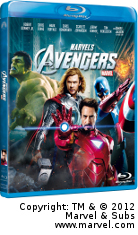 Vinn The Avengers på Blu-Ray